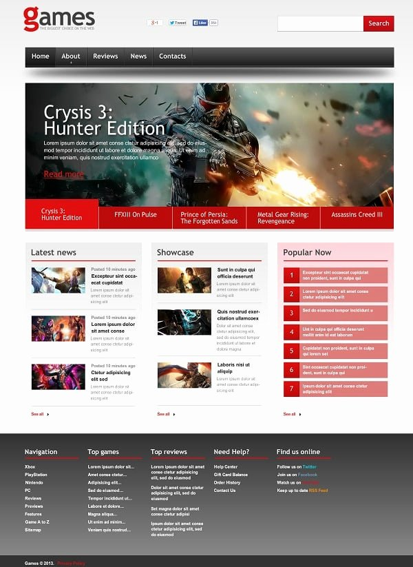 Free Gaming Website Template Lovely Gaming Website Templates Pro Tips for Building A Gaming