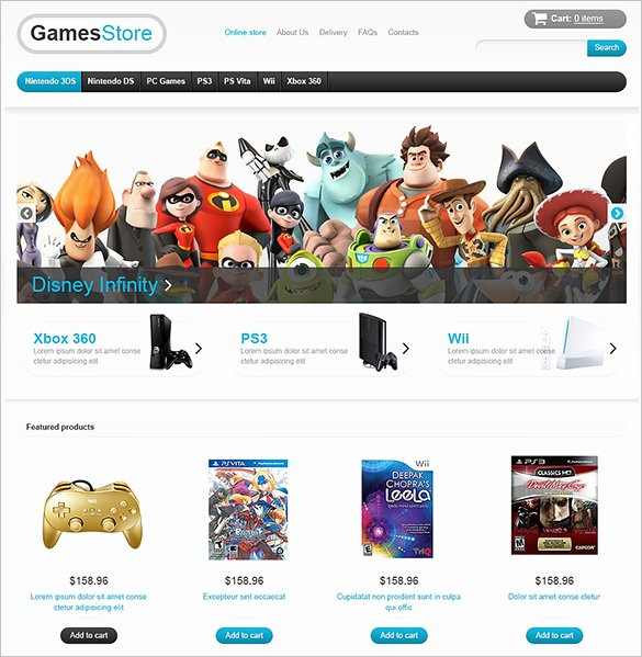 Free Gaming Website Template Luxury 21 PHP Gaming Website themes & Templates