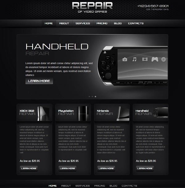 Free Gaming Website Template New Gaming Website Templates Pro Tips for Building A Gaming
