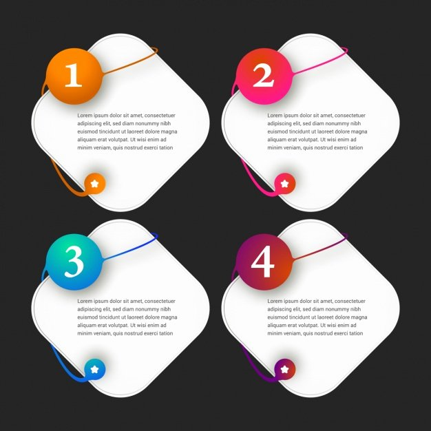 Free Graphic Design Template Beautiful Infographic Template Design Vector