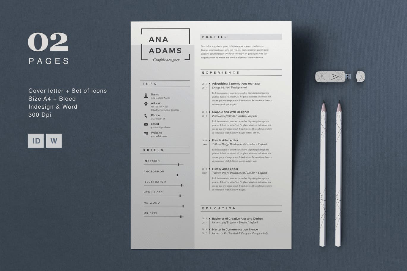 Free Graphic Design Template Best Of 20 Beautiful & Free Resume Templates for Designers