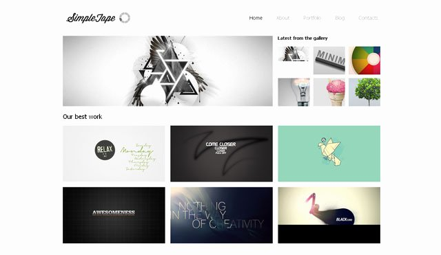 Free Graphic Design Template Best Of 5 Free Website Design Templates – Bashooka