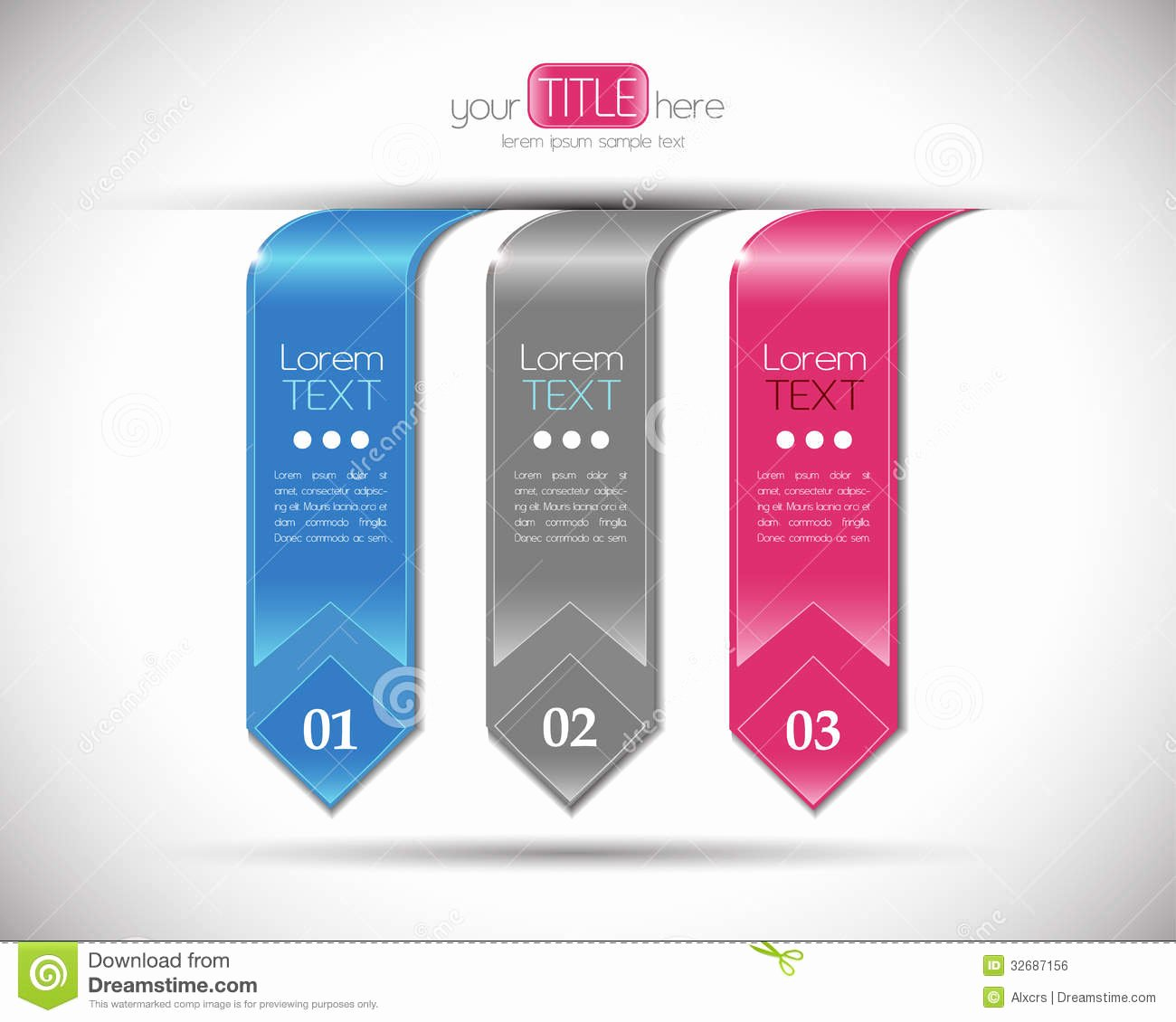 Free Graphic Design Template Best Of Modern Number Banners Design Template Royalty Free Stock