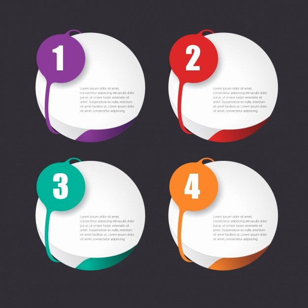 Free Graphic Design Template Inspirational Infographic Template Design Vector