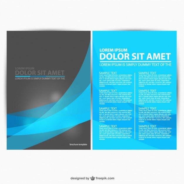 Free Graphic Design Template Luxury 30 Free Brochure Vector Design Templates Designmaz