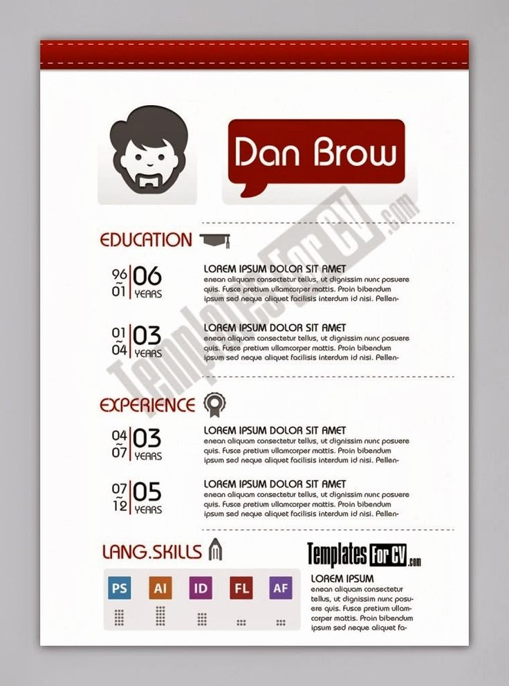 Free Graphic Design Template Luxury Contoh Cv format Word Free Template Cv Kreatif 30