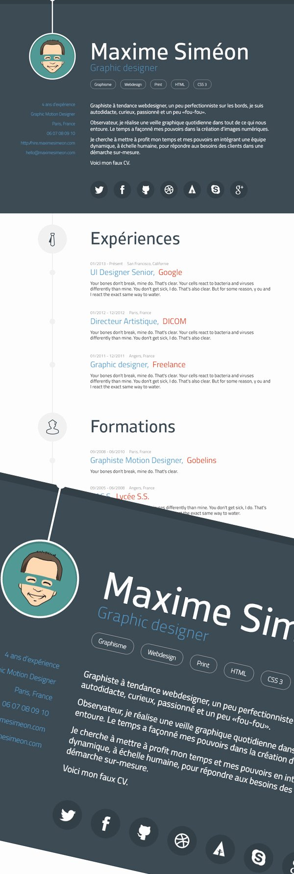 Free Graphic Design Template New Free Professional Cv Resume and Cover Letter Psd Templates