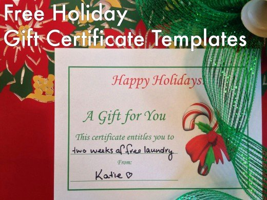 Free Holiday Gift Certificate Template Inspirational Free Holiday Gift Certificates Templates to Print