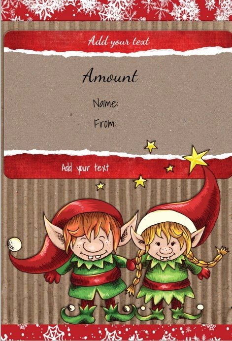 Free Holiday Gift Certificate Template Lovely Free Christmas Gift Certificate Template