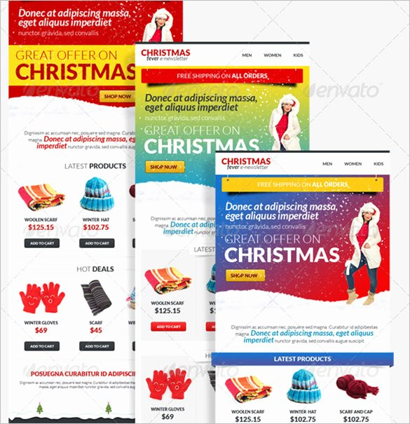 Free Holiday Newsletter Template Awesome 9 Holiday Newsletter Templates – Free Word Documents