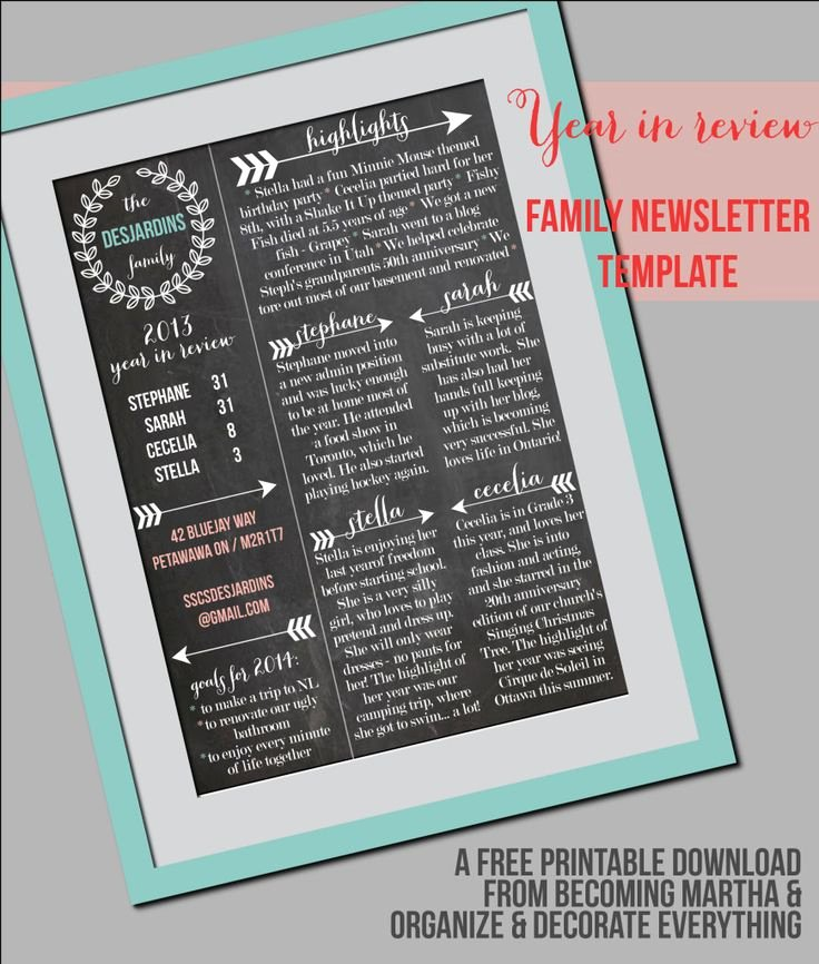 Free Holiday Newsletter Template Elegant 11 Best Sample Newsletters Images On Pinterest