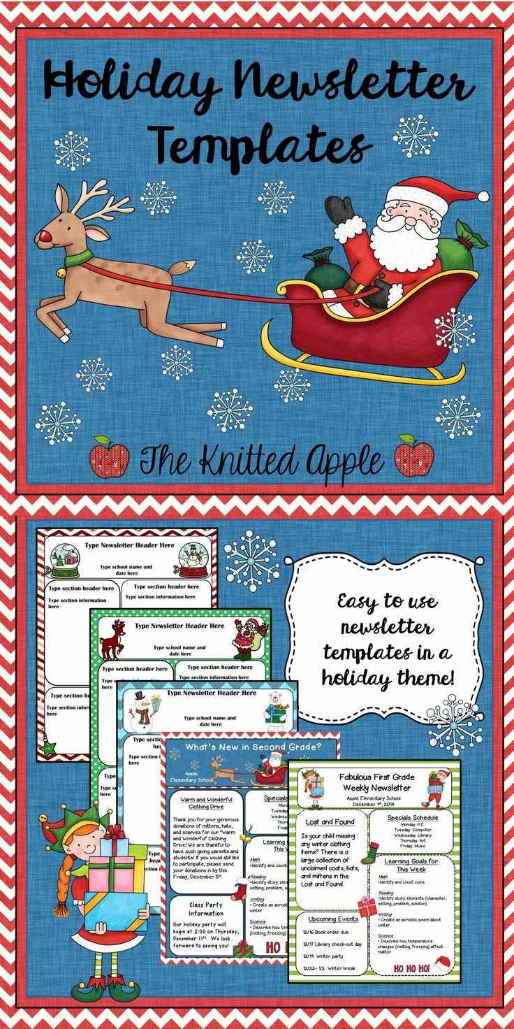 Free Holiday Newsletter Template Lovely 17 Best Images About Cedar Chest On Pinterest