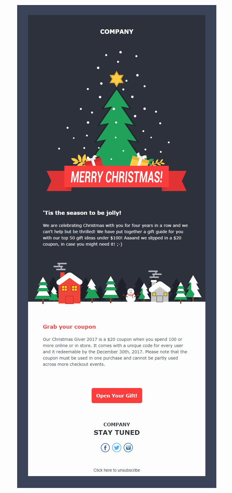 Free Holiday Newsletter Template Lovely top 5 Free Christmas Newsletter Templates to Rock Xmas 2017