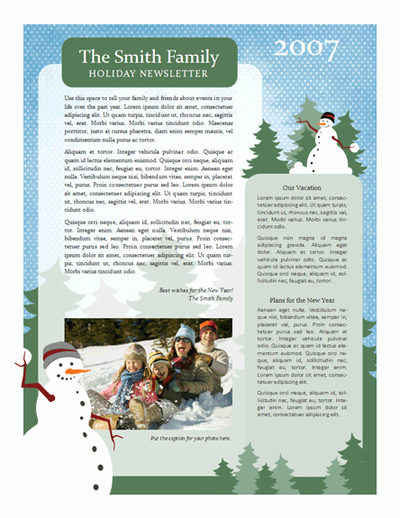 Free Holiday Newsletter Template Luxury 7 Useful Christmas Cards Christmas Cards
