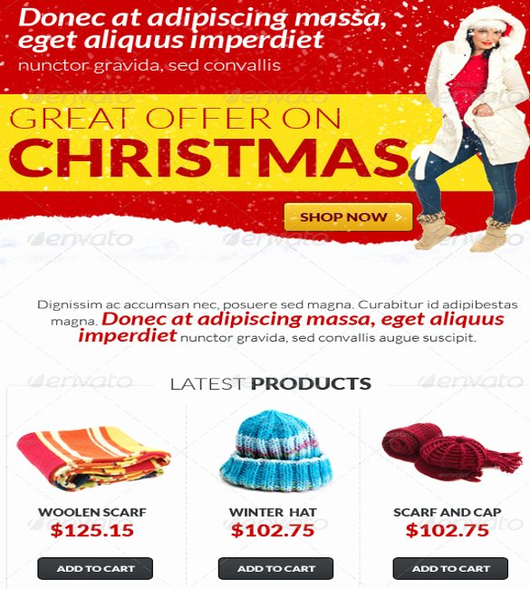 Free Holiday Newsletter Template Luxury Christmas Newsletter Template – 8 Psd Pdf formats