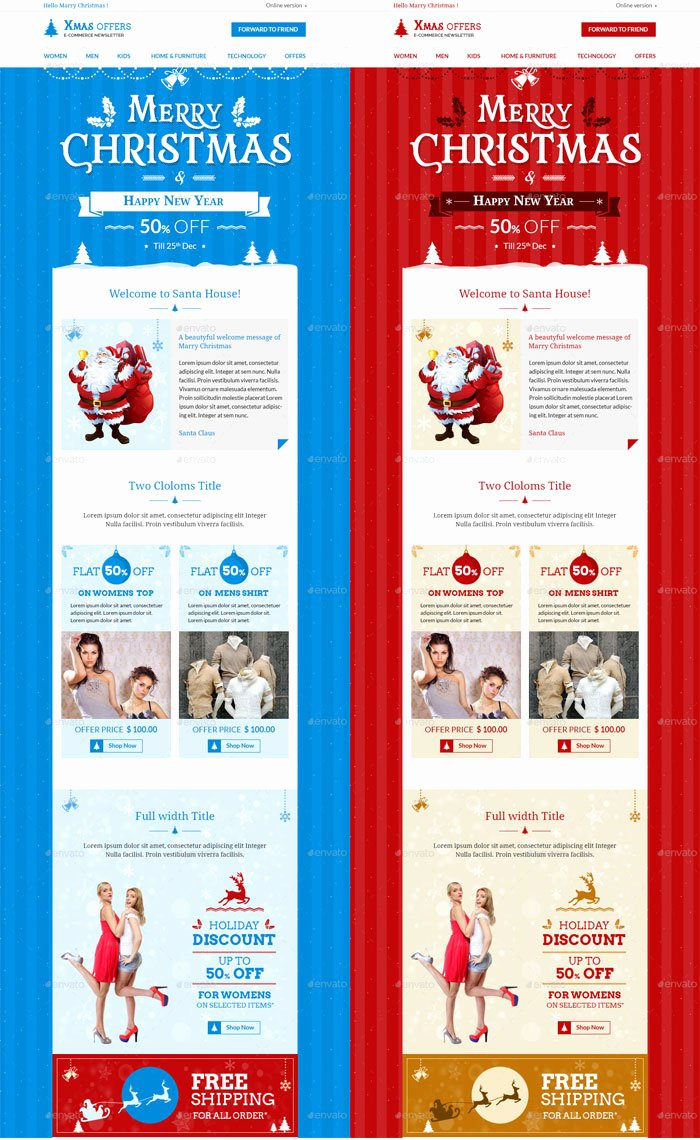 Free Holiday Newsletter Template New 9 Christmas Newsletter Templates to Create Printable and