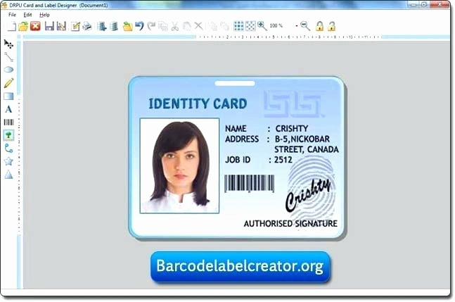 Free Id Card Template Word Elegant Template Id Card – Puntogov