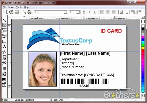 Free Id Card Template Word Inspirational Download Free Idpack Business Idpack Business 9 0 43 Download
