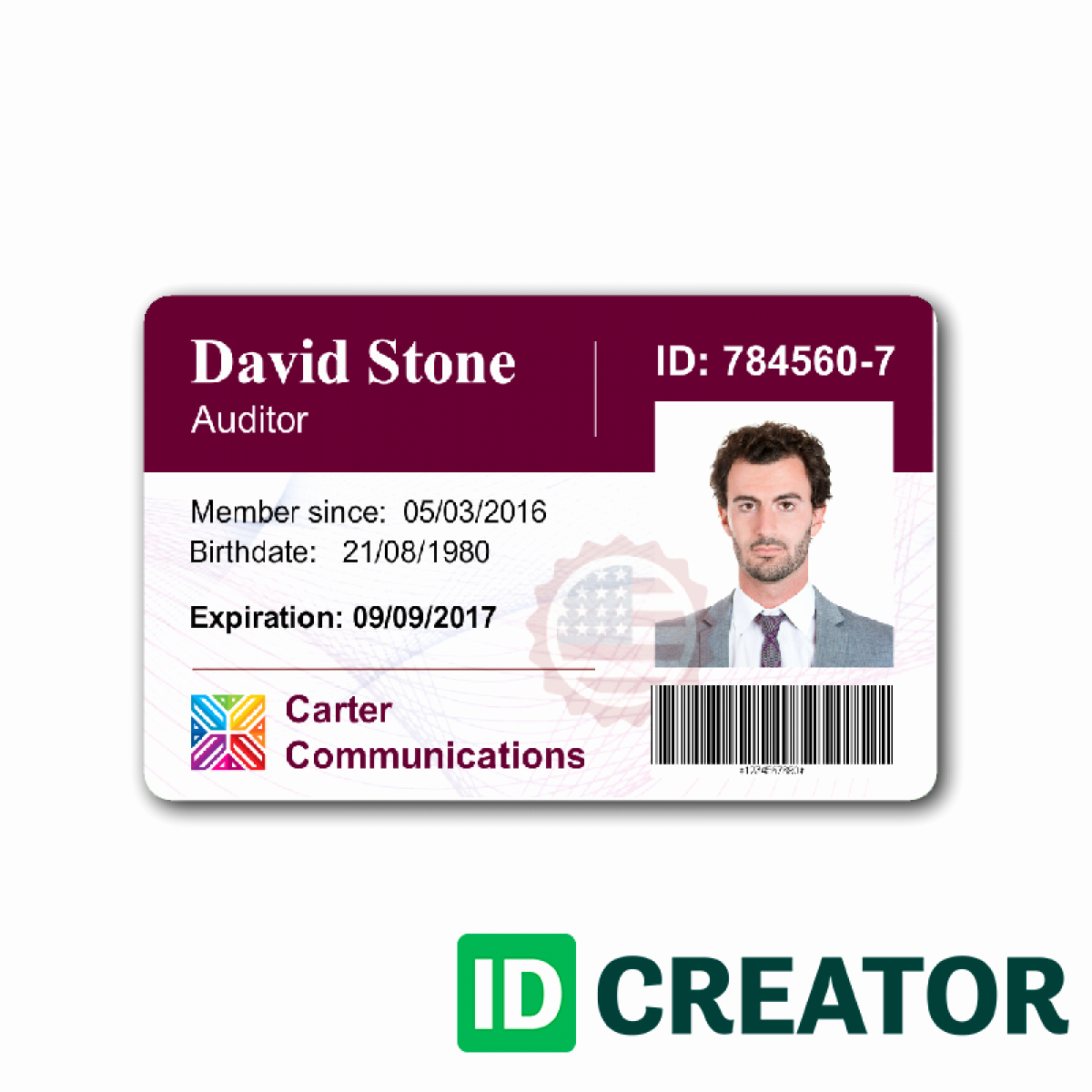 Free Id Card Template Word Inspirational Pany Id Card Template Word Templates Data