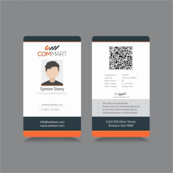 Free Id Card Template Word New 21 Id Cards