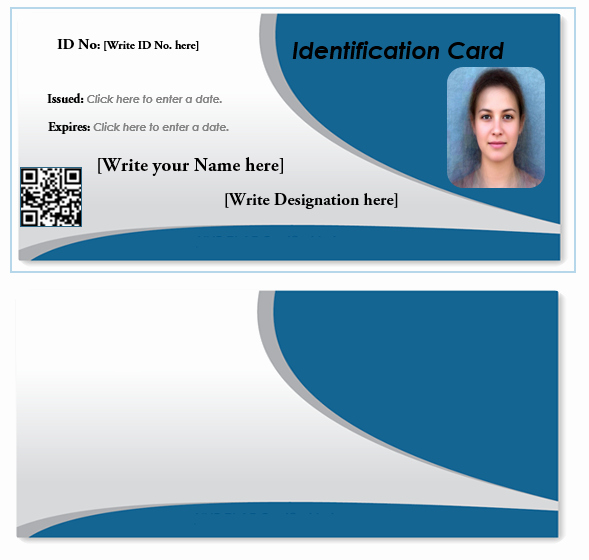 Free Id Card Template Word Unique How to Make Id Card In Ms Excel 6 Best Id Card Creator