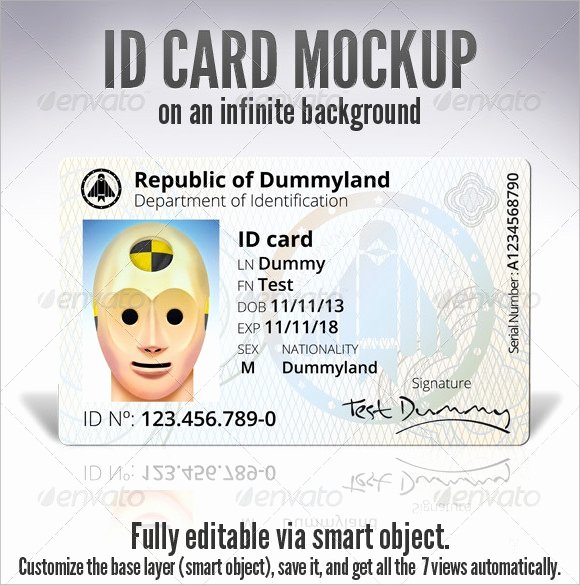 Free Id Card Template Word Unique Id Card Template 19 Download In Psd Pdf Word