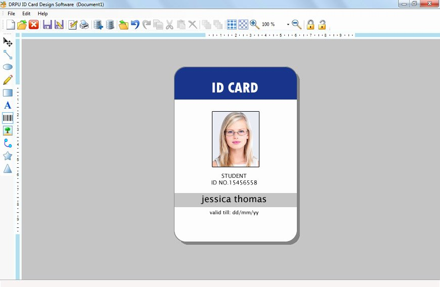 Free Id Card Template Word Unique Id Card Template