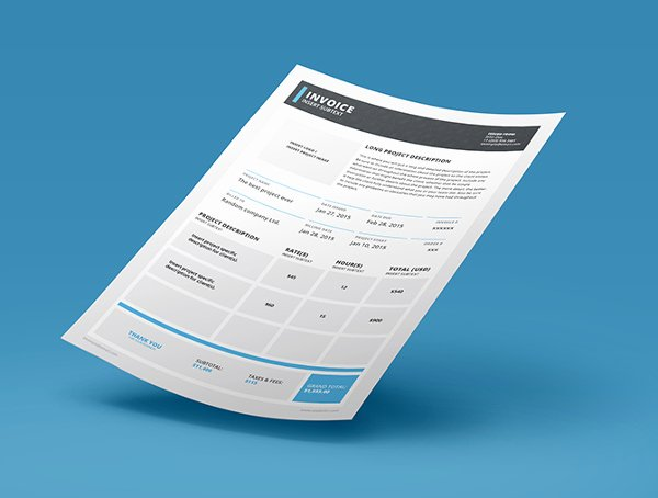 Free Indesign Invoice Template Awesome 6 Indesign Invoice Templates Free Download
