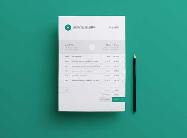 Free Indesign Invoice Template Beautiful 50 Free Invoice Templates Psd Indd & Excel formats Download