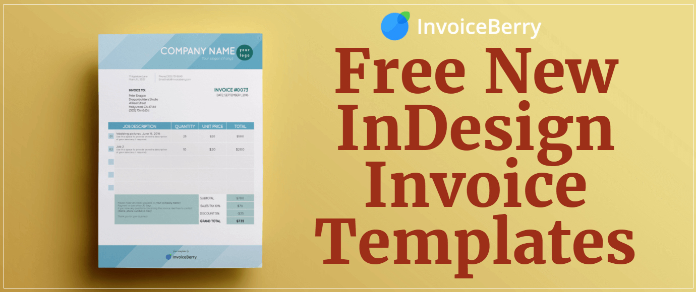 Free Indesign Invoice Template Beautiful Free New Indesign Invoice Templates