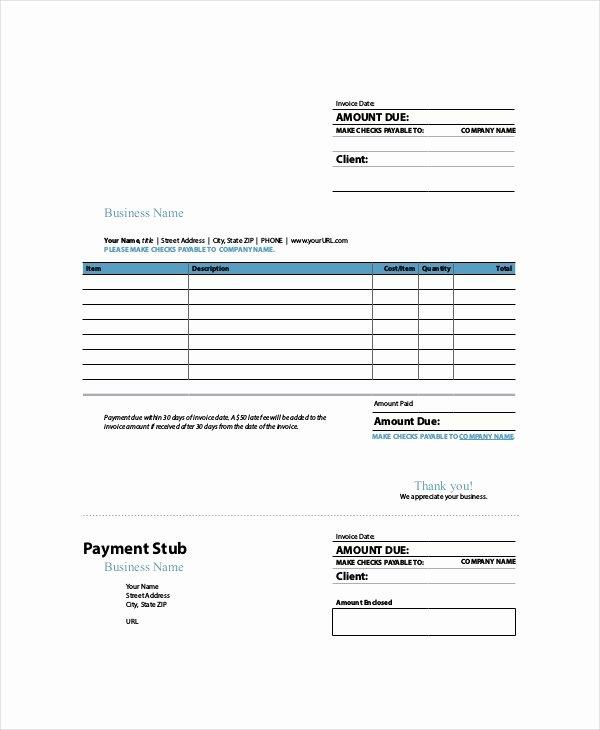 Free Indesign Invoice Template Elegant Indesign Invoice Template 7 Free Indesign format