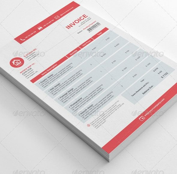 Free Indesign Invoice Template Luxury Indesign Invoice Template Readleaf Document
