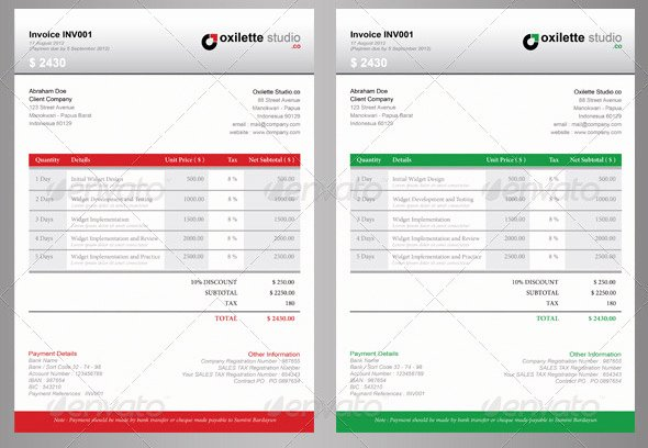 Free Indesign Invoice Template New 21 Useful Invoice Indesign Templates – Design Freebies