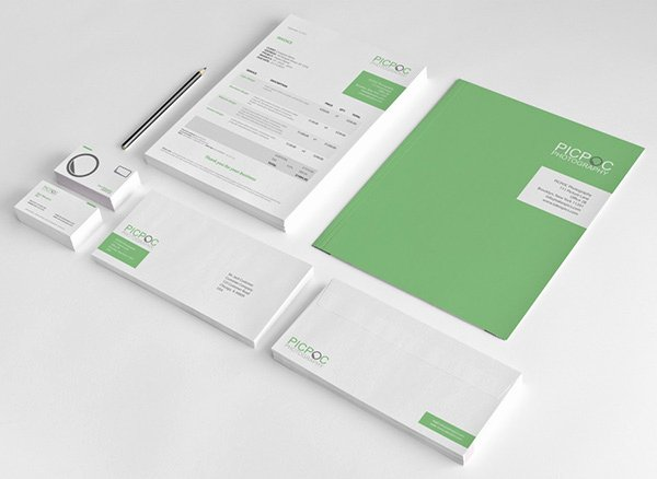 Free Indesign Invoice Template Unique Clean & Modern Stationary Invoice and Identity On Behance