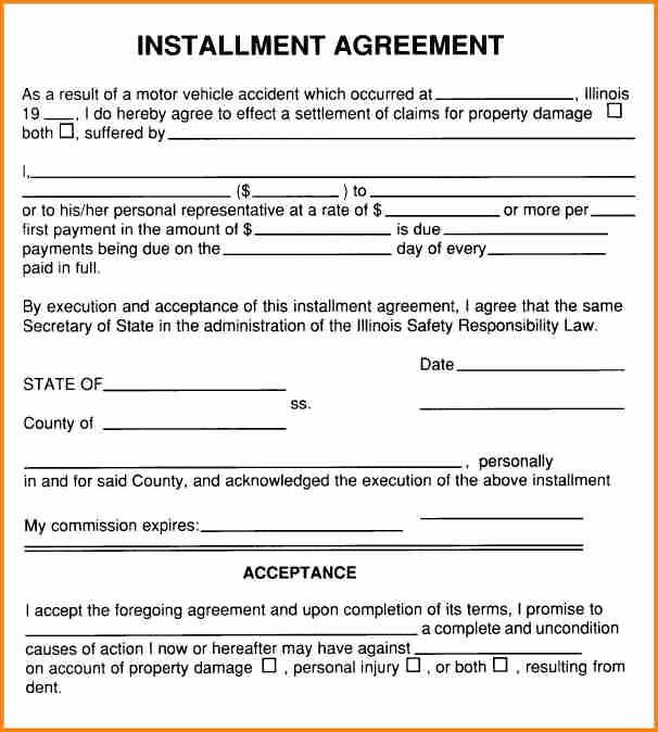 Free Installment Payment Agreement Template Best Of 5 Installment Payment Agreement Sample