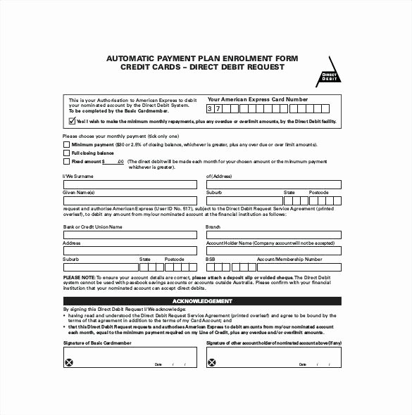 Free Installment Payment Agreement Template Inspirational Installment Payment Plan Agreement Template Contract 7