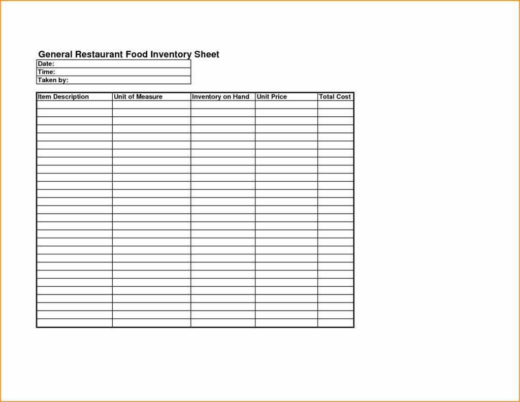 Free Inventory Spreadsheet Template Best Of Inventory Control Templates Excel Free and Restaurant
