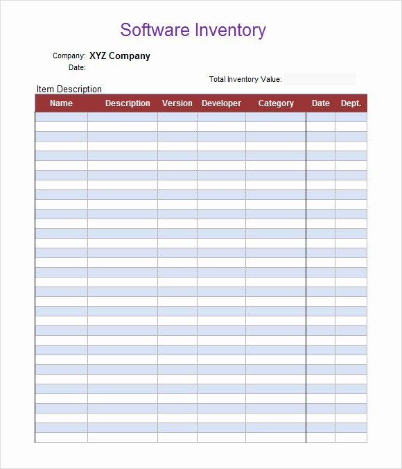 Free Inventory Spreadsheet Template Fresh 7 Excel Spreadsheet Templates Download Documents In Excel