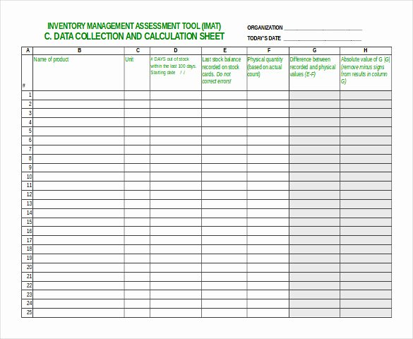 Free Inventory Spreadsheet Template Lovely Inventory Spreadsheet Template 48 Free Word Excel