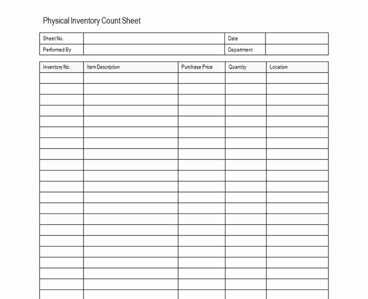 Free Inventory Spreadsheet Template Luxury Inventory Sheet Sample Free Inventory Template Estate Sale