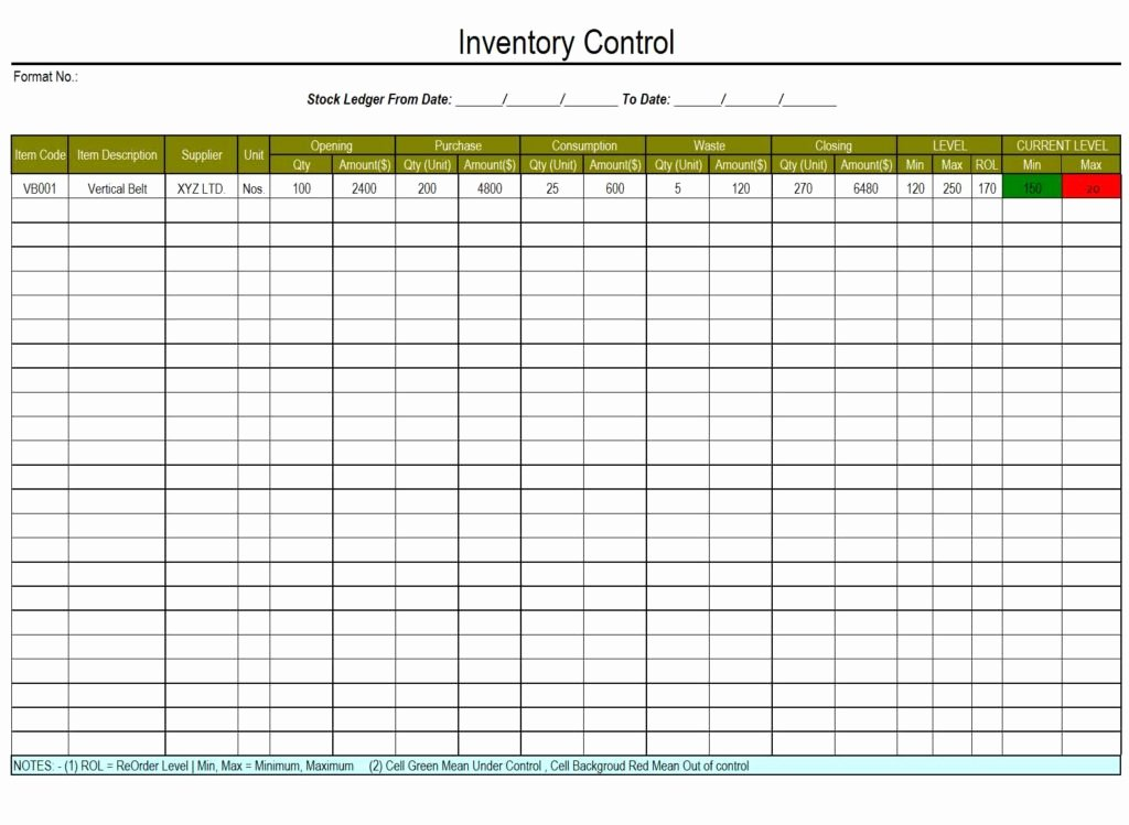 Free Inventory Spreadsheet Template New Free Inventory Tracking Spreadsheet Template Download