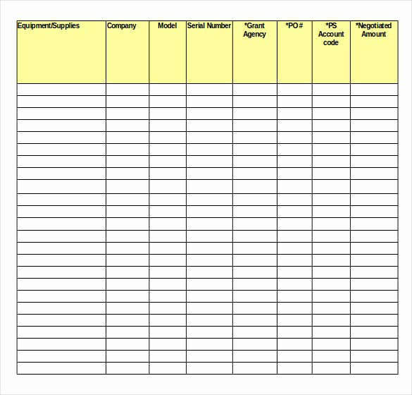 Free Inventory Spreadsheet Template Unique Inventory Spreadsheet Template 48 Free Word Excel