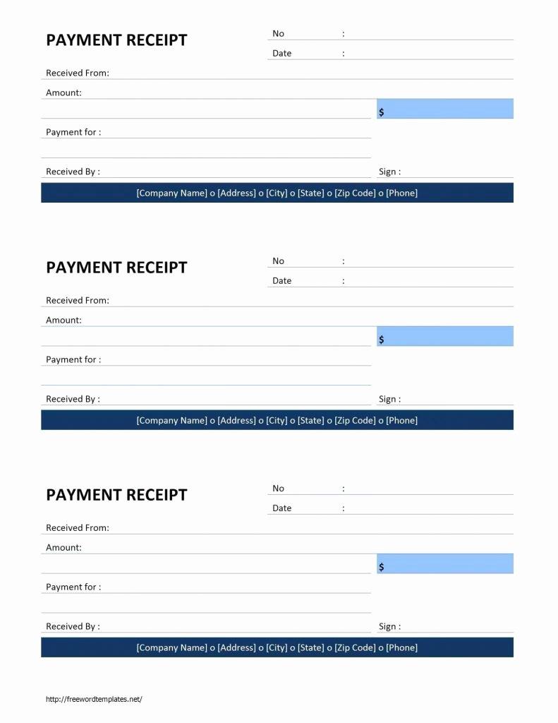 Free Invoice Receipt Template Elegant Payment Invoice Template Free and Template Editable