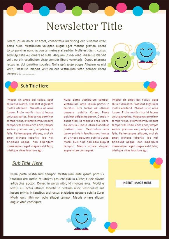 Free Kindergarten Newsletter Template Unique Kaymbu Blog – Insights for Effective School Home