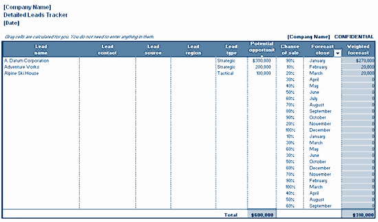 Free Lead Tracking Spreadsheet Template Beautiful Download Detailed Leads Tracking