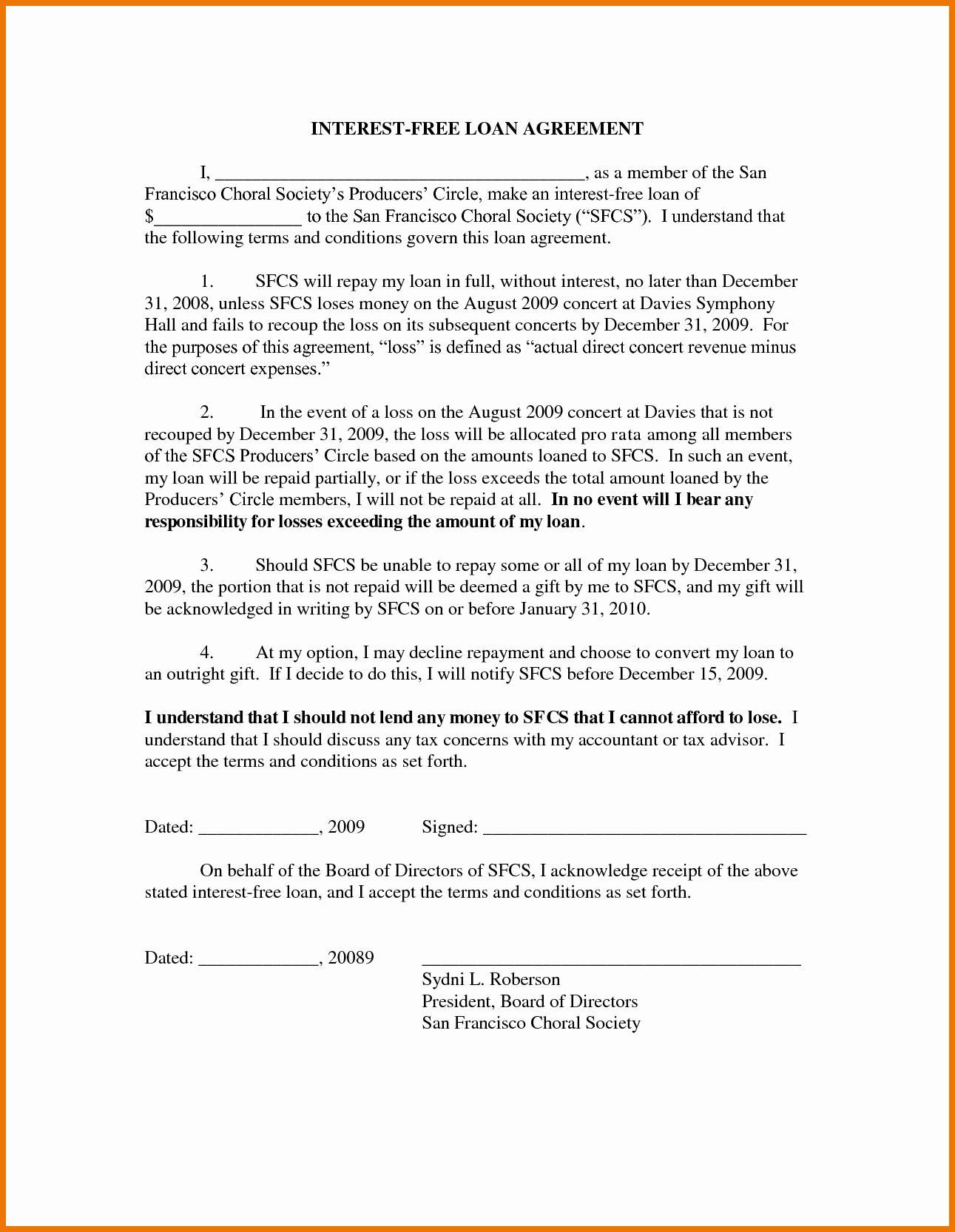 Free Loan Document Template Luxury Free Loan Document Template Portablegasgrillweber