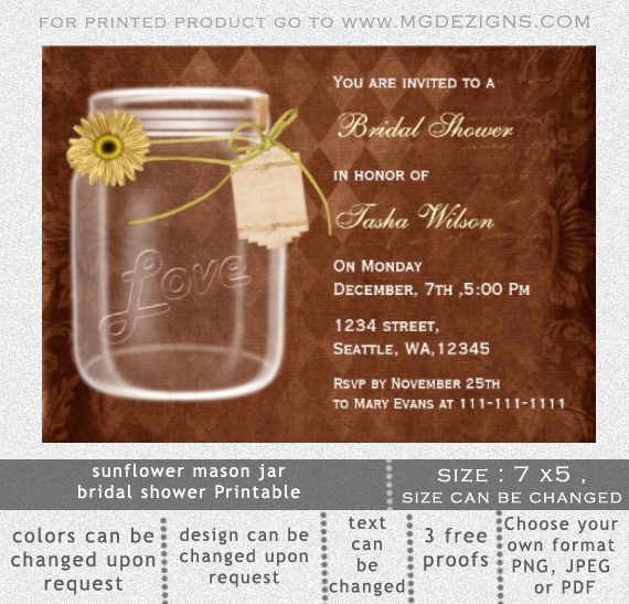 Free Mason Jar Invitation Template Awesome Mason Jar Invitations Templates Blank