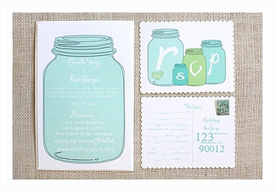 Free Mason Jar Invitation Template New 10 Free Printable Wedding Invitations Diy Wedding