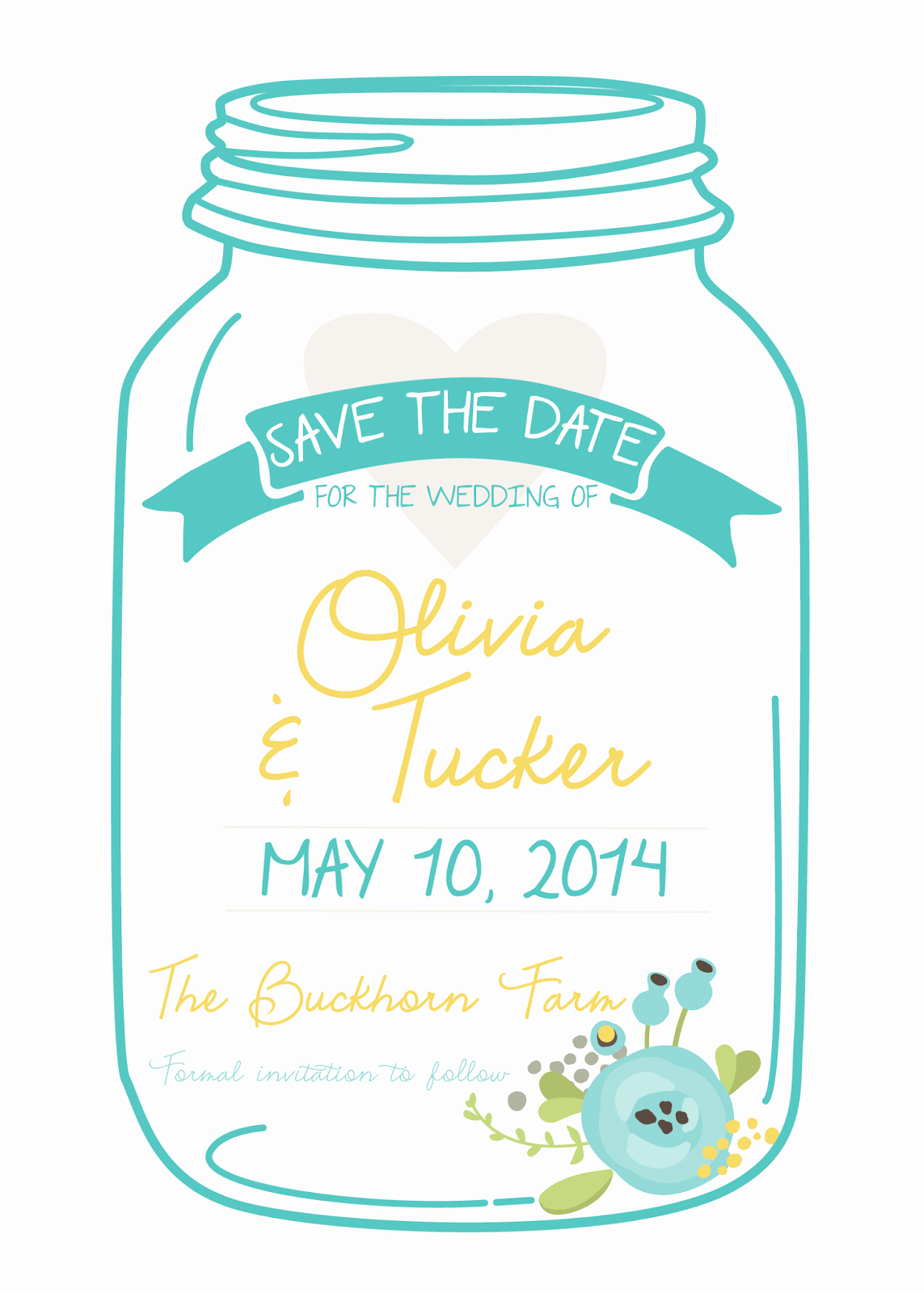 Free Mason Jar Invitation Template New Diva Gone Domestic