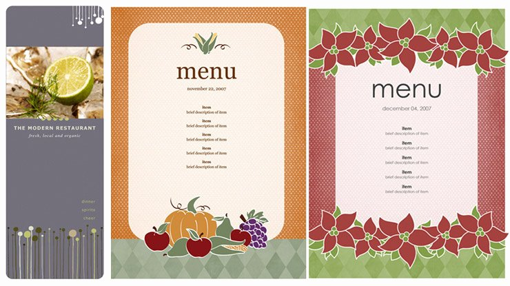 Free Menu Template Microsoft Word Elegant Menu Templates Microsoft Word Microsoft Office Menu